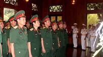 Quân khu 4 dâng hương kỷ niệm ngày sinh Chủ tịch Hồ Chí Minh