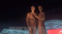 Khánh thành tượng đài Nguyễn Sinh Sắc-Nguyễn Tất Thành