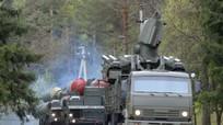 Lực lượng tên lửa phòng không Nga phô diễn sức mạnh