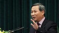 Khởi tố nguyên Phó chủ tịch Hà Nội Phí Thái Bình