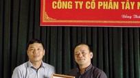 Công bố thành lập Chi bộ Đảng Công ty cổ phần Tây Nghệ