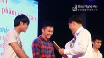 Đại học Vinh và Cao đẳng nghề Việt Nam Hàn Quốc đồng đăng quang festival sinh viên