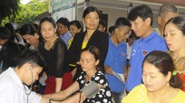Thanh Chương: Trên 500 người tham gia hiến máu tình nguyện