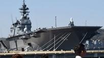 Chiến hạm lớn nhất của Nhật sắp đi qua khu vực Biển Đông