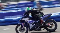 Nam nữ đua chung trong giải đua Yamaha GP ở Cần Thơ