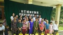 Vui Tết thiếu nhi cùng học sinh nghèo Đan Lai