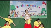 Gần 200 thiếu nhi giáo xứ Bố Sơn và xóm giáo Lương Sơn vui đón Tết thiếu nhi