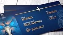 Vé chợ đen trận chung kết UEFA Champions League giá gần 800 triệu