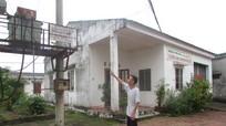 100 hộ dân Thị trấn Cầu Giát mong sớm có điện, nước