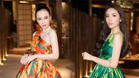 Angela Phương Trinh, Kỳ Duyên diện váy họa tiết lạ