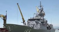 Tàu hộ vệ tên lửa Úc thăm Đà Nẵng