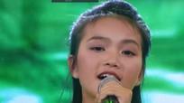 Cô bé Nghệ An hát dân ca chinh phục nghệ sĩ Thu Hiền