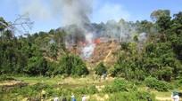 Quỳ Châu: Dập tắt cháy rừng nhờ phương án '4 tại chỗ'