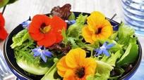 Ăn hoa, xu hướng ẩm thực mới