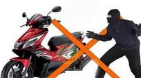 Bắt 2 thanh niên trộm cắp xe máy