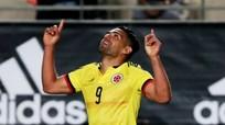 Falcao lập kỷ lục Colombia trong trận hòa Tây Ban Nha
