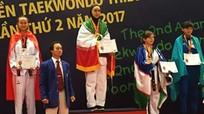 VĐV Nghệ An đoạt huy chương Bạc Giải vô địch Taekwondo thiếu niên Châu Á