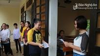 Gần 1.000 thí sinh thi vào trường THPT Chuyên Phan Bội Châu