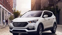 Hyundai triệu hồi SantaFe do lỗi chốt mở nắp ca-pô