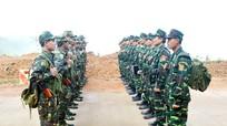 Biên phòng Nghệ An tuần tra song phương với đơn vị bảo vệ biên giới nước bạn Lào
