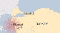 Động đất mạnh 6,3 độ richter ở bờ biển Thổ Nhĩ Kỳ