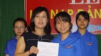 Trường THPT Thanh Chương 1 kết nạp 16 đảng viên mới