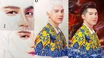 Noo Phước Thịnh khen ngợi hoạ sỹ trẻ Nghệ An đã vẽ chân dung mình