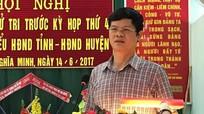 Phó Chủ tịch thường trực UBND tỉnh tiếp xúc cử tri Nghĩa Đàn