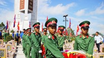 104 hài cốt liệt sỹ được quy tập trong mùa khô 2016-2017