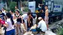 Người dân miền núi 'giải cứu' gần 2.000 con vịt giúp nông dân miền xuôi