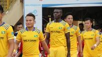 Sông Lam Nghệ An đặt niềm tin vào tiền đạo nội tại lượt về V.League 2017