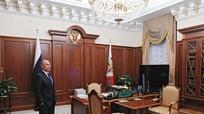 Putin hé lộ phòng làm việc bí mật