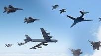 Máy bay ném bom chiến lược Mỹ tham gia tập trận trên Bán đảo Triều Tiên