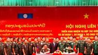 Quân khu 4 ký kết hợp tác với các đơn vị Quân đội Lào năm 2017