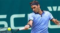 Federer hạ đương kim vô địch, vào bán kết Halle Mở rộng