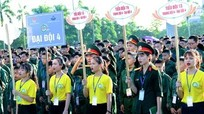 Hơn 600 'chiến sĩ nhí' xuất quân Học kỳ quân đội 2017