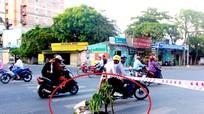 Xuất hiện 'hố tử thần' trên đường thành phố Vinh