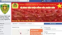 Nghệ An: Cảnh sát hình sự lập Facebook phòng chống tội phạm