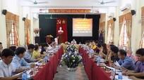 Giao ban công tác tuyên giáo 6 tháng đầu năm cụm đường 48
