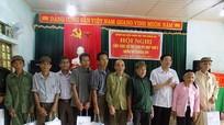Đại biểu Quốc hội tiếp xúc cử tri xã Liên Hợp (Quỳ Hợp)
