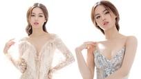 Khánh Linh gợi cảm với thiết kế của Chung Thanh Phong