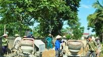 Nghệ An còn nợ đọng xây dựng nông thôn mới 615 tỷ đồng
