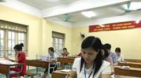 Chấm thi THPT quốc gia 2017: Đã có bài thi Ngữ văn bị điểm liệt