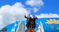 Chủ tịch nước Trần Đại Quang thăm thành phố Saint Petersburg