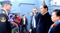Chủ tịch nước Trần Đại Quang thăm 'thủ đô phương Bắc' của nước Nga