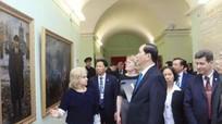 Chủ tịch nước Trần Đại Quang gặp gỡ Thống đốc Saint Petersburg