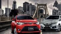 Đọ sức đối thủ truyền kiếp Toyota Vios và Honda City
