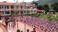 Huyện miền núi đứng thứ 3 toàn tỉnh về xây dựng trường chuẩn quốc gia