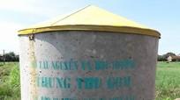 Xây dựng 698 thùng chứa bao bì, chai lọ thuốc bảo vệ thực vật