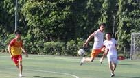 12 đội tham dự giải bóng đá mini ngành Du lịch